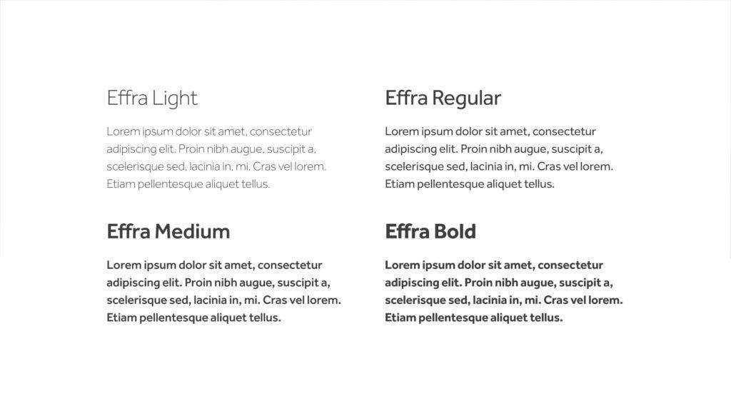 gwaranto – typografia