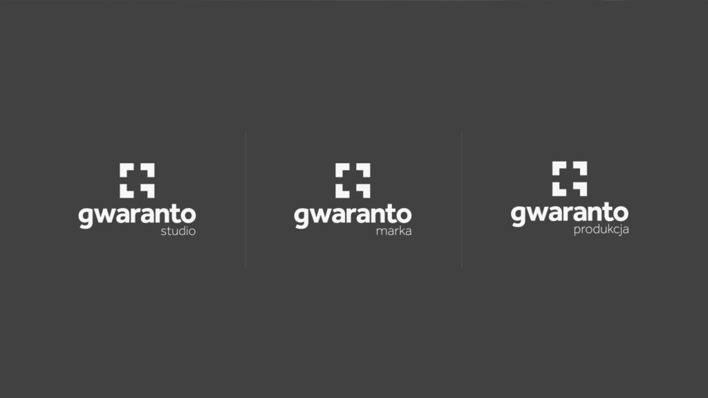 gwaranto – wersje logo