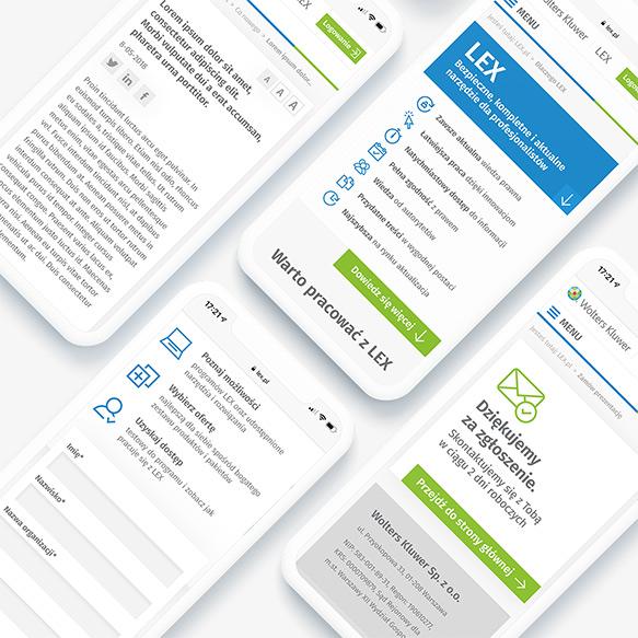 LEX.pl - projekt strony internetowej dla firmy z Warszawy